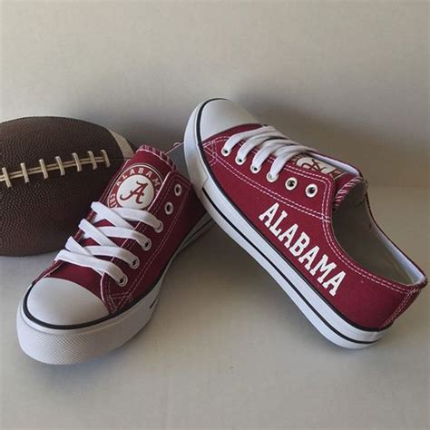 alabama converse shoes alabama crimson tide converse style shoes http