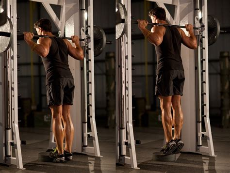 smith machine seated calf raise how to build big calves regardless of your genetics