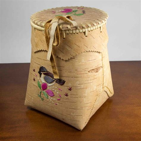 Handcrafted Products - berry baskets acho dene crafts