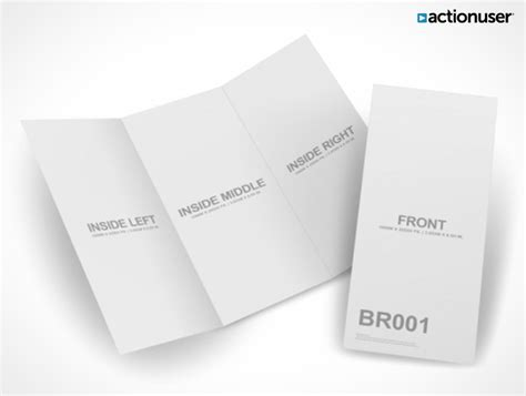 brochure mockup template psd bifold brochure mock up template psd mock up