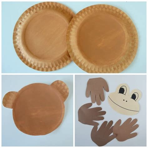 How To Make A Paper Monkey - paper plate monkey paper plate crafts for