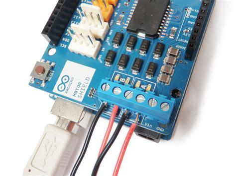 tutorial arduino motor shield arduino motor shield tutorial 6