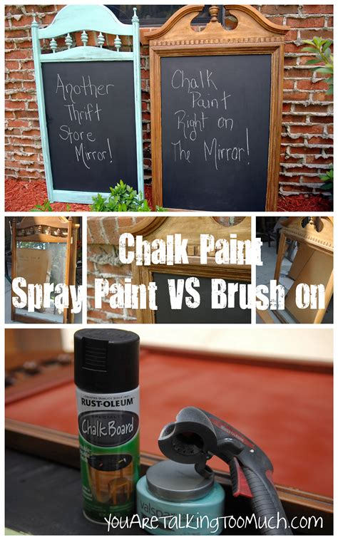 chalk paint vs chalkboard paint chalkboard quot brush quot paint vs quot spray quot chalkboard paint you