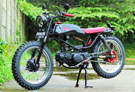 Modif Rx King Purbalingga by 80 Modif Motor Trail Klasik Modifikasi Trail