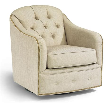 Flexsteel Accents 0080 11 Fairchild Swivel Chair With Flexsteel Swivel Chair