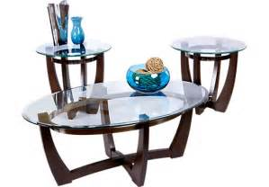 Livingroom Table Sets Haverhill Brown 3 Pc Table Set Table Sets Wood