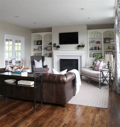 living rooms with brown couches a light airy and family friendly living room living