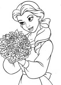 belle reading coloring sheets coloring coloring image clipart images