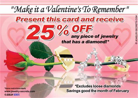 S Day Advertisement Valentine S Day Jewelry Sle Advertisement Jewelry Secrets