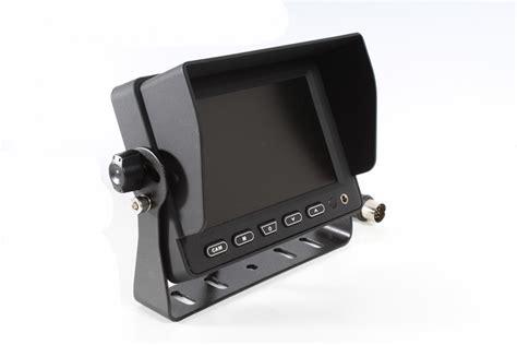 Monitor Lcd Di monitor lcd da 5 quot con possibilit 224 di collegare 3 telecamere retromarcia cool mania