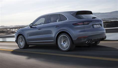 Price Of Porsche Cayenne by 2018 Porsche Cayenne Revealed Australian Debut Due Mid