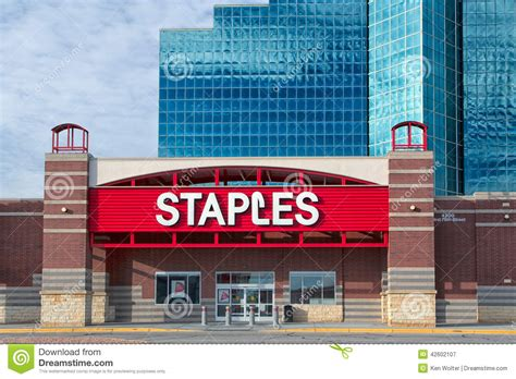 Stables Office Supplies by Staples Office Supply Store Editorial Photography Image