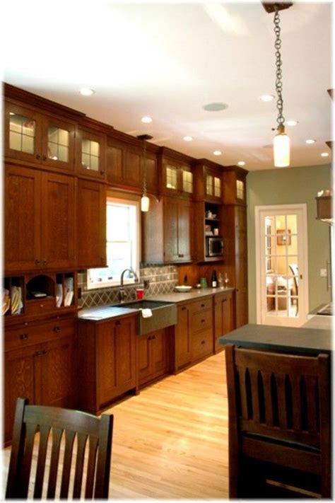 mission style kitchen cabinets 17 best images about craftsman cabinets on pinterest oak