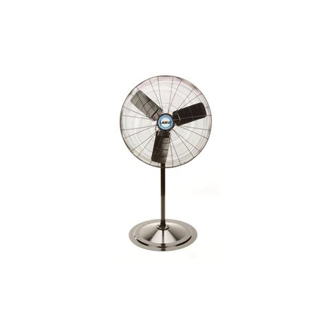 outdoor oscillating pedestal fan lasko adjustable height 30 in industrial grade