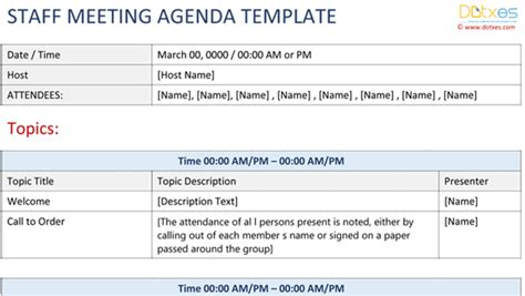 team around the child meeting template staff meeting agenda template childcare dotxes