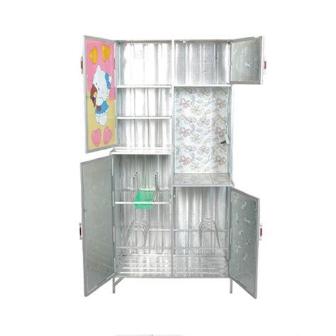 Rak Piring Kaca 3 Pintu rak piring dapur 3 pintu kaca rata khusus jadetabek