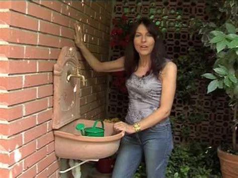 lavelli da terrazzo lavandino da giardino installazione fai da te
