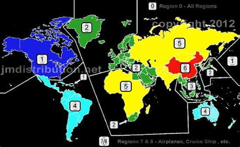 dvd format mexico dvds region 0 1 4 dvd regions encoding explanation and map