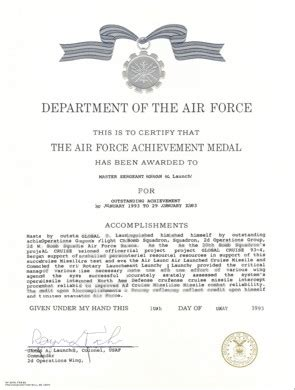 air force writing assistance and examples