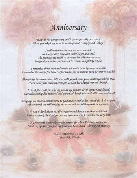 Wedding Anniversary Poems For Husband In Heaven by 21 Best Images About Marriage Anniversary On