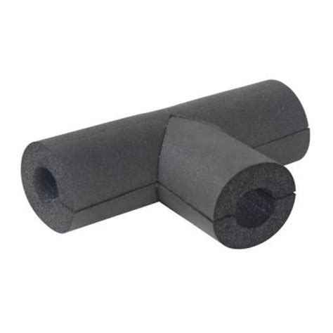 everbilt 1 2 in rubber pipe insulation hpf05812tee