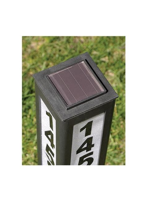 solar address light color changing solar address light carolwrightgifts