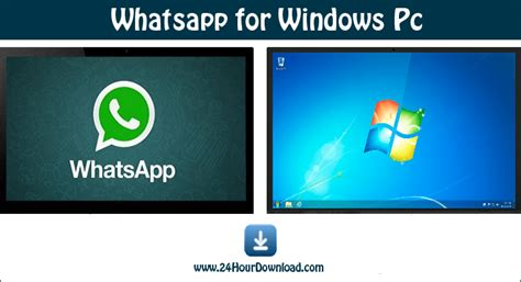 how to install whatsapp messenger on windows pc whatsapp for windows xp 7 8 and 10 pc 32 64 bit 24hourdownload