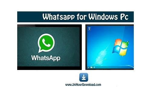 whatsapp pro pc herunterladen windows 7 software
