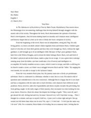 Huck Finn Essay by Huckleberry Finn Essays Freedom Huckleberry Finn Freedom Essay