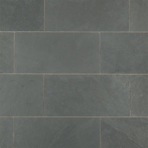 24 slate tile 28 images 12 by 24 montauk black slate tiles in staggered brick pattern for