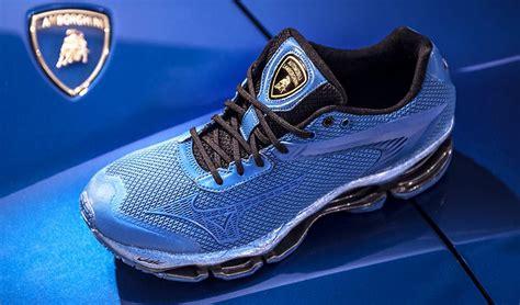 lamborghini shoes lamborghini x mizuno shoes horsepower meets footpower