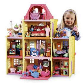 dolls house family family doll house
