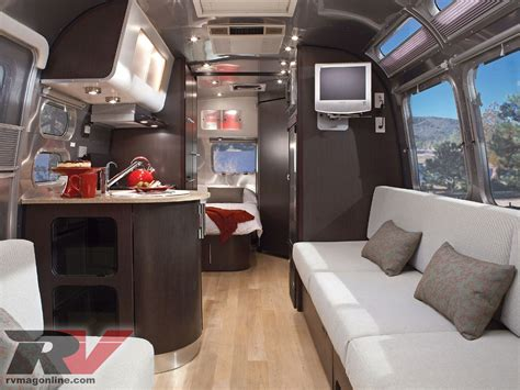 Rv With Modern Interior by Airstream International 23 Trailer Road Test Travel