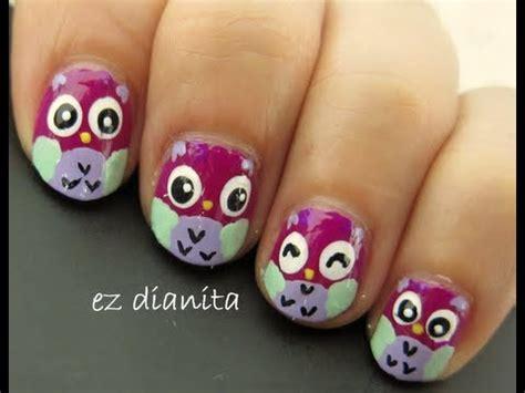 imagenes de uñas decoradas kawaii dise 241 o de u 241 as 24 buhos tiernos estilo kawaii owl nail