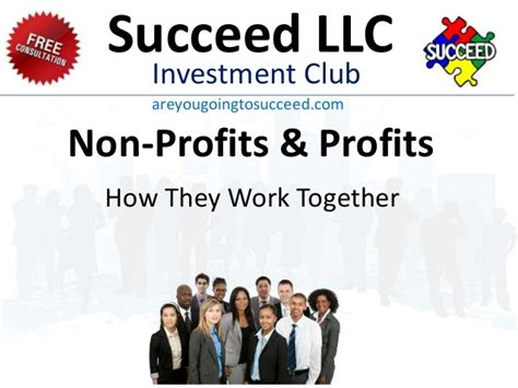 Non Profit With Mba by Succeed Profit Non Profit
