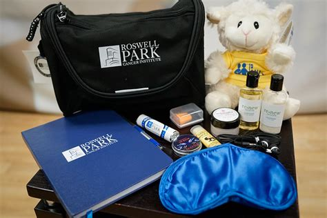 hospice comfort pack special delivery for roswell park inpatients comfort kits