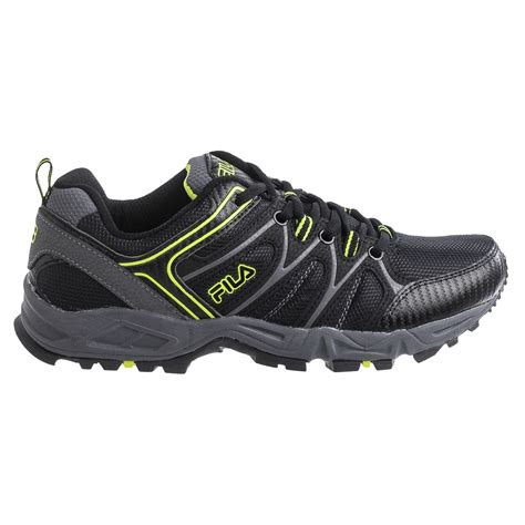 trail running shoes on road fila open road 2 trail running shoes for save 60