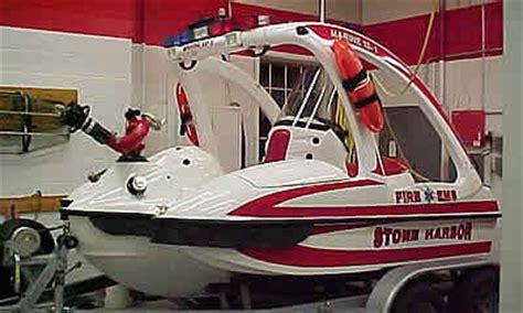sonic jet rescue boat apparatus of stone harbor vol fire co no 1