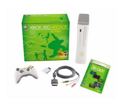 xbox arcade console console de jeux xbox 360 arcade luckyfind