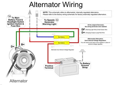generator alternator wiring diagram wiring diagram and
