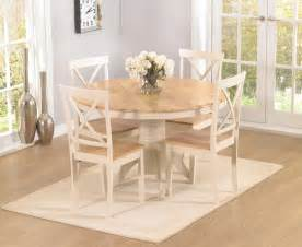 buy the epsom cream 120cm round pedestal dining table set