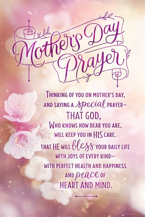 """Mother's Day Prayer Ecard""   Mother's Day eCard   Blue"