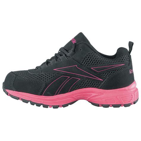 womens steel toe sneakers reebok ateron womens steel toe static dissipative work