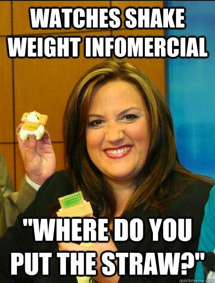 Shake Weight Meme - fat news anchor memes quickmeme