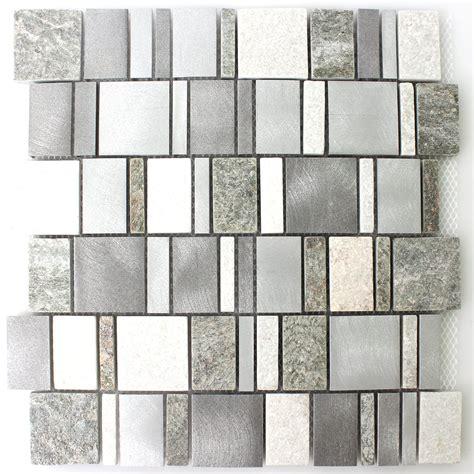 metall fliesen metall naturstein mosaik fliesen mix tm33422