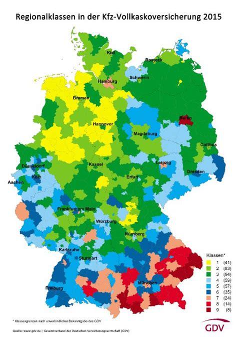 Kfz Versicherung Berechnen 2015 by Kfz Versicherung 2015 196 Nderungen In Der Regionalstatistik