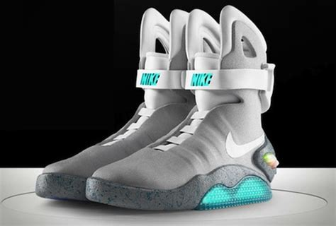 Nike Air Mcfly To Be Released by Fashion Groupie Kid Cudi In Nike Air Mag Marty Mcfly Shoes
