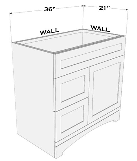 what size vanity top do i need to buy nest appeal