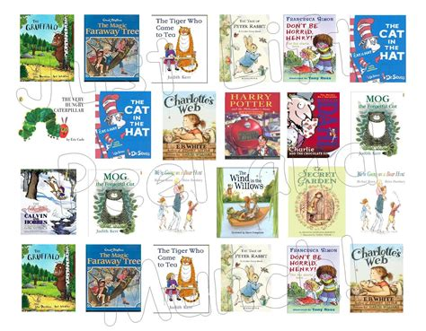 printable children s book covers children s various mini book covers just lift peel