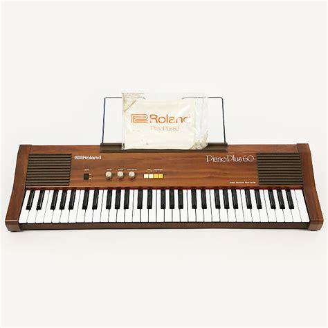 Roland Piano Plus Vintage Synthesizer roland piano plus 60 analog synthesizer keyboard mint reverb